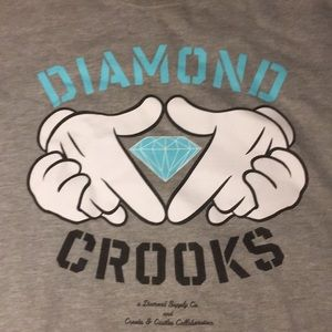 Diamond Supply X Crooks & Castle crewneck